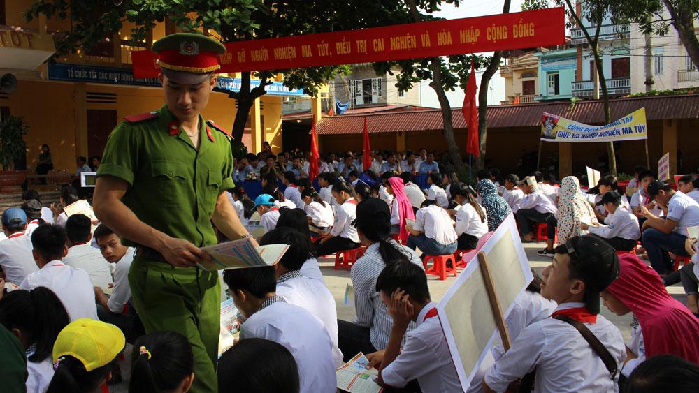 Yên Dũng: Mít tinh Tháng hành động phòng, chống ma túy